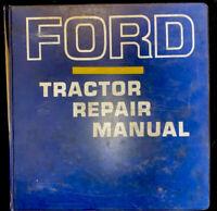 Ford Tractor Repair Manual 2000, 3000, 4000,5000 *1721
