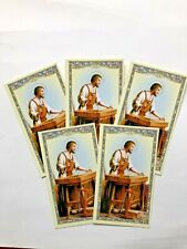 """""""ST JOSEPH HOMESELLER""""  Holy Cards LOT 5 pieces, """"GREAT 4 REALTORS"""",    NEW"""