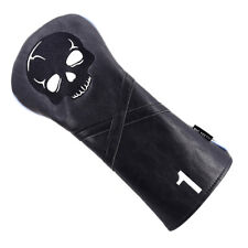 Black Skull Golf Club Driver Head Cover Headcover Portable For Taylormade M2 M1