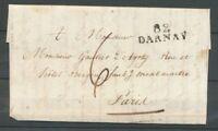 1822 Lettre Marque Linéaire 82 Darnay VOSGES(82) X1685
