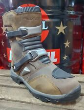 Forc50w Brown BOOTS Short Forma Adventure Low off Road ATV Quad Measure 45