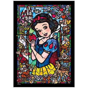 Tenyo Disney Snow White and the Seven Dwarfs Stained Glass Puzzle 266 Pieces