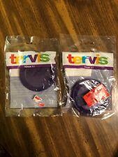 Tervis Lids!!!  10 Ounce!!!  Lot of 2!!!  Purple!!!  NEW!!!