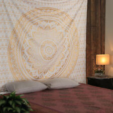 Indian Mandala Elephant Tapestry Twin Hippie Wall Hangings Halloween Tapestries