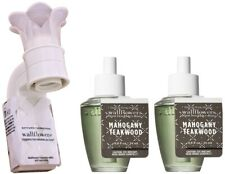 Wallflowers Mahogany Teakwood Fragrance Plug-In Diffuser Starter Set