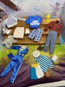 MATTEL BARBIE KEN DOLL COMPLETE FASHIONS for ALL OCCASIONS MIXED LOT 1980s 90s