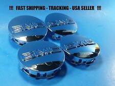4 Center Caps For GMC 2014 2015 2016 2017 Sierra Yukon Denali Hub Cap 83mm 3.25