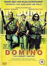 Domino [DVD], Good DVD, Christopher Walken,Lucy Lui,Edgar Ramirez,Mickey Rourke,