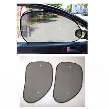 2x Car Side Window Protection Static Cling Shade Sun Shade Shield Visor Pads New