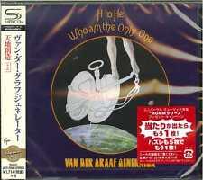 VAN DER GRAAF GENERATOR-H TO HE WHO AM THE ONLY-JAPAN  SHM-CD BONUS TRACK D50