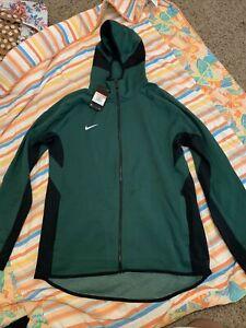 Nike Dry Green Sweat Suit Men's Sz XL NEW Joggers Zip Up Hoodie
