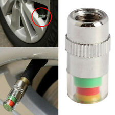 Car Tire Air Pressure Monitor Valve Stem Cap Sensor Indicator Eye Alert