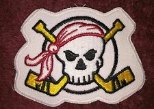 Rare Pirates Hockey Jersey Iron On Shoulder Patch Crest B