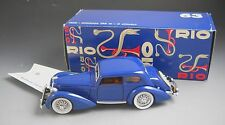 Rio Models # 63 1938 DELAHAYE 135m 6 Cylinder With Original Box and Packing