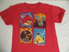 Angry Birds Red T-Shirt Boys Size Large 12 14