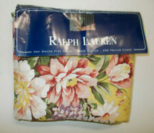 NEW Without Package Ralph Lauren Brooke Yellow Floral Queen Flat Sheet Sophie