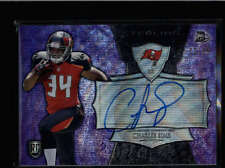 CHARLES SIMS 2014 BOWMAN STERLING PURPLE WAVE REFRACTOR ROOKIE AUTO 12/35 AB8620