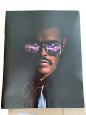 More details for the weeknd - hand signed autograph poster after hours remix limited edition