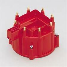 MSD Extra Duty Distributor Caps 8411  Male/HEI-Style, Red, Clamp-Down, GM, V8