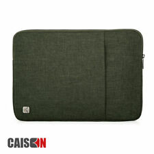 Custodie verde in nylon per laptop