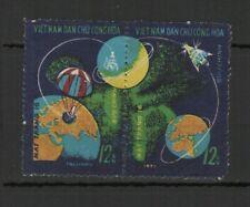 Vietnam du Nord 1971 Luna 16 2 timbres oblitérés se tenant /TR8439