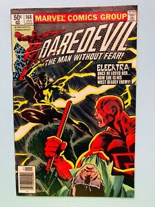 DAREDEVIL #168 - (1st Appearance of Elektra ) 1980 MARVEL- NEWSTAND NICE BOOK