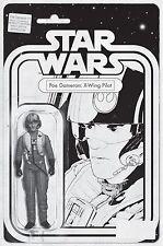 Star Wars Poe Dameron #1 ~ CGC 9.8 Action Figure Sketch Variant ~ JTC Exclusive