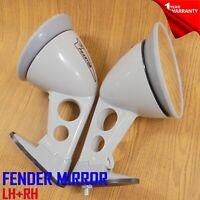 For Toyota Celica TA22 RA20 RA21 RA22 1970-75 Fender Bullet Gray Grey Mirrors