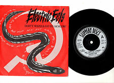 "ELECTRIC EELS.DON'T WANNA GO TO MOSCOW / WILD DREAM.UK ORIG 7"" & PIC/SL.EX"