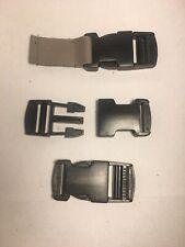 Plastic Side Release Buckle Clips/Sliders For Webbing 25mm