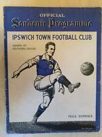 1936 Southern League IPSWICH TOWN v TUNBRIDGE WELLS - 29th August