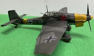 Junkers Ju-87 B2 STUKA scale 1/72, HAND BUILT, Weathered (From REVELL Kit)