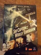 "DVD "" SKY CAPTAIN AND THE WORLD OF TOMORROW ""  A. JOLIE"
