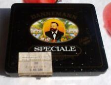 Vecchia SCATOLA SIGARI Dannemann speciale per 20 sigari, 5,90 DM, in esclusiva-GARANZIA