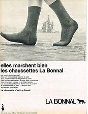 PUBLICITE  1967    LA BONNAL   chaussettes