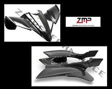 NEW YAMAHA YFZ 450 PLASTIC BLACK CARBON FIBER FRONT AND REAR FENDER SET