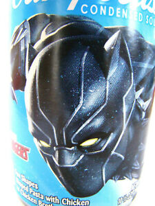 Marvel's Avengers BLACK PANTHER Campbell's Soup New Sealed