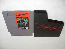Rad Gravity Nintendo NES Spiel nur das Modul