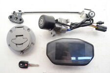 2016 Ducati Monster 1200R Lockset Display Key Ignition Switch Set TESTED 6524023