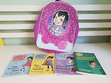 KIDS BOOKS BILLIE BROWN SALLY RIPPEN PLUS COOL BACKPACK! PLAYGROUND DETECTIVES