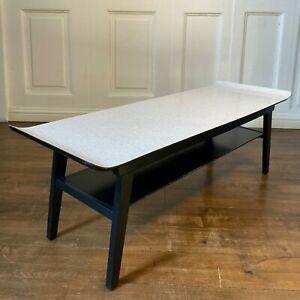 Surfboard Style 1950s Mid Century Formica Coffee Table Retro