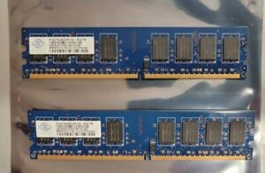 4GB 2 x 2GB PC2-6400 Memory RAM Dell Vostro 220 320 A180 XPS 420 625 630 One 24