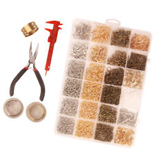 DIY EARRING JEWELLERY MAKING STARTER KIT,FINDINGS TOOL SET & ACCESSORIES BOX