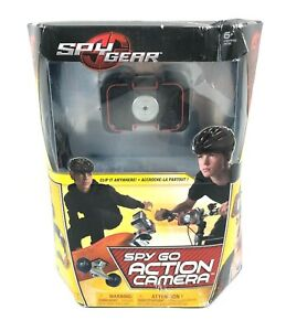 Spy Gear Spy Go Action Camera Clip-On Portable Spin Master