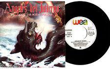 """7"""" - Angeles Del Infierno - Con Las Botas Puestas (VINYL SINGLE 45 RPM """"PROMO"""")"""