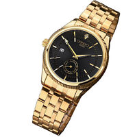 2019 new Fashion Mens watch gold Stainless Steel Quartz watches Wrist Watchs