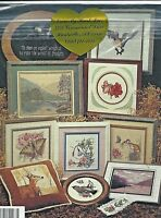 NEW-NEVER OPENED-NATURE'S NOTEBOOK-CROSS MY HEART cross stitch pattern BOOKLET