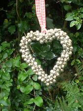 Danés Real Jingle Bells Corazón Colgante Decoración De Navidad