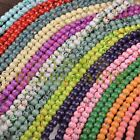 Hot 30pcs 8mm Round Charms Loose Glass Spacer Beads Findings Mixed Color Finding