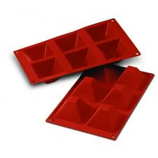 Moules silicone 6 Pyramides